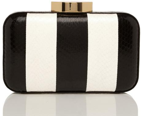 Black And White Striped Handbags Style Black White Stripe