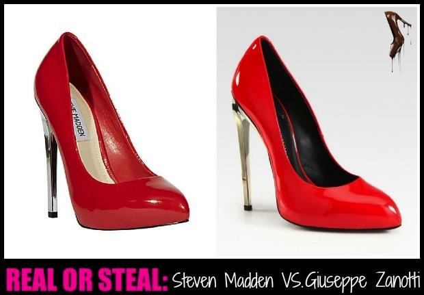 ec2486e954a Real or Steal  Steve Madden Lipstyck Pumps VS. Giuseppe Zanotti ...