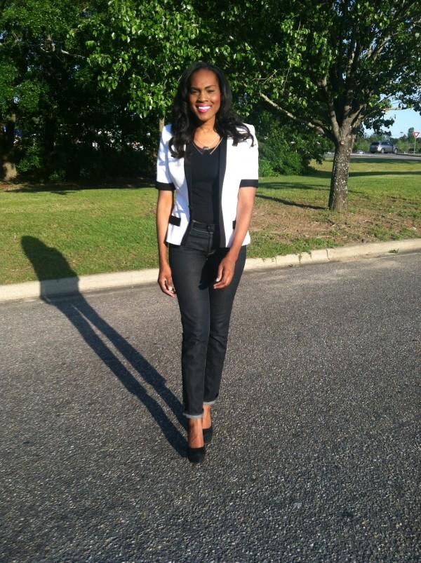 white-black-thrifted-jacket-hm-jeans-black-zigi-pumps-5