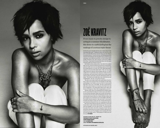 Zoe-Kravitz-Poses-Topless- For-V- Magazine-4