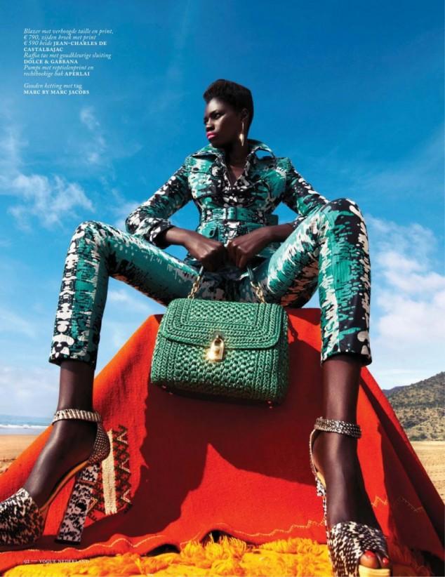 Kinee-Diouf- Vogue- Netherlands-July- 2013-6