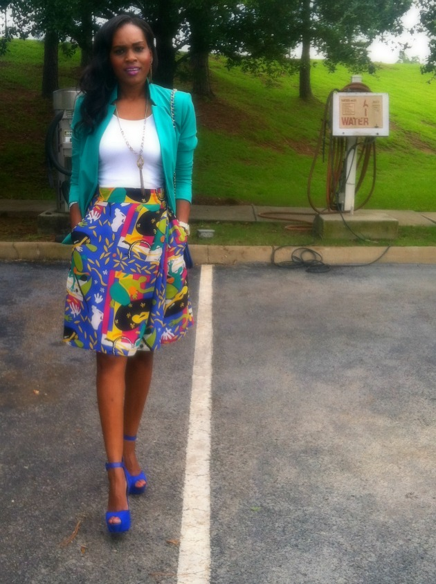 style-files-with-pretty-price-sunny-leigh-vinatge-thrifted-skort-printed-shorts-vince-camuto-blazer-bebe-suede-blue-heels-2-2