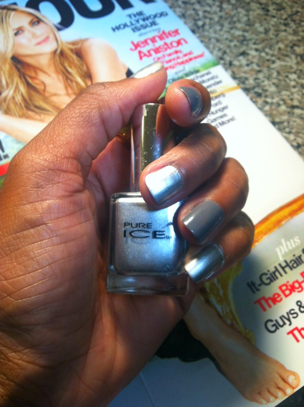 Nail- it-With-Pure-Ice- Kiss-Me-Here- and -Silver-Mercedes-Polishes-