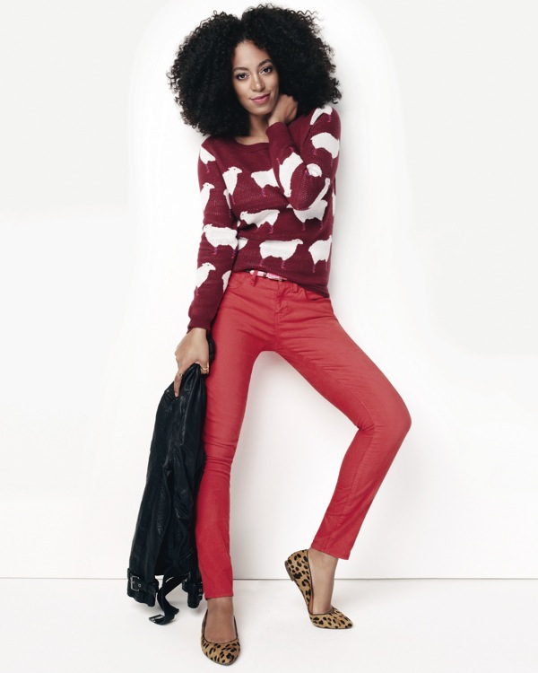 Solange for Madewell