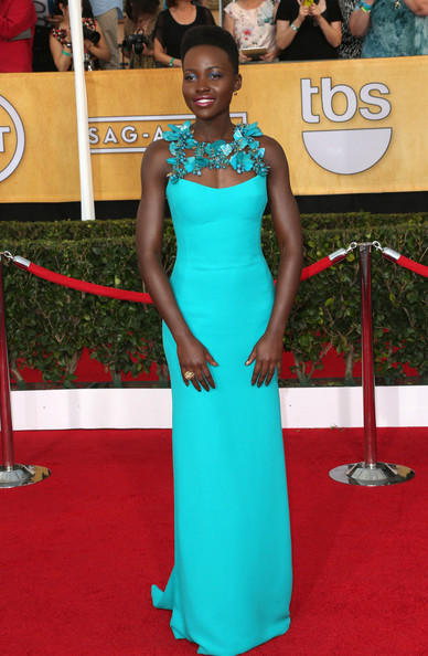 2014-Screen-Actors-Guild-Awards-Lupita- Nyongo-Wins-Best- Dressed-for-2014-SAG- Awards-in-Gucci- Gown-