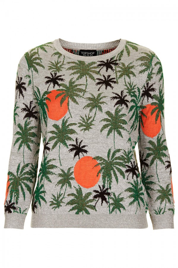 Get-Beyonce- TopShop-Palm- Tree-Lurex- Sweater-Palm- Tree-Lurex-Skirt-oohlalablog-