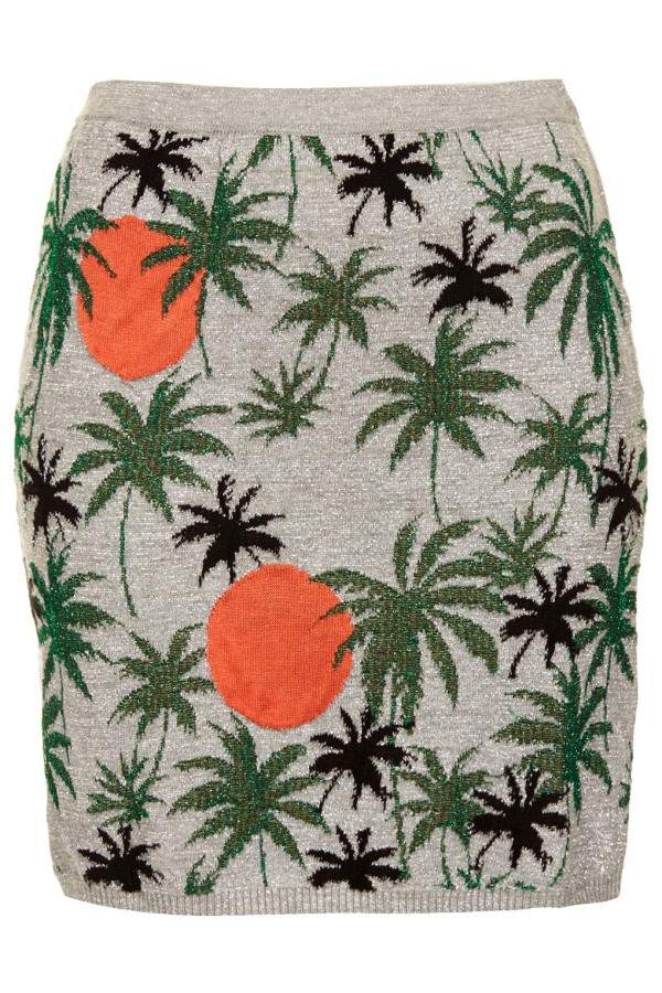 Get-Beyonce- TopShop-Palm- Tree-Lurex- Sweater-Palm- Tree-Lurex-Skirt-oohlalablog-2