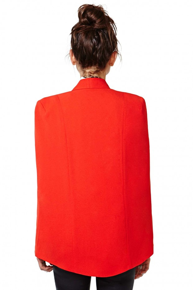 nasty-gal-gold-champagne-taste-cape-blazer-red-2