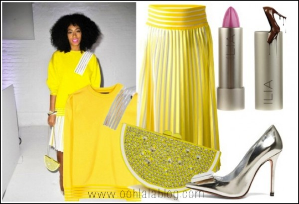 I-Love-Her-Look- Solange-Knowles-at- Q-Q-Launch-Event-in Christopher-Kane- Resort-2014-Kate- Spade-Bag-Acne- Studios-Heels-10