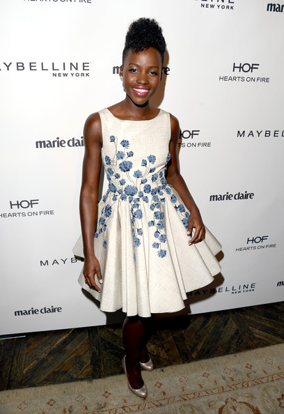 Lupita-Nyongo-Marie-Claire-Fresh-Faces-party-Giambattista-Valli-  Couture-fall-2013-dress-3