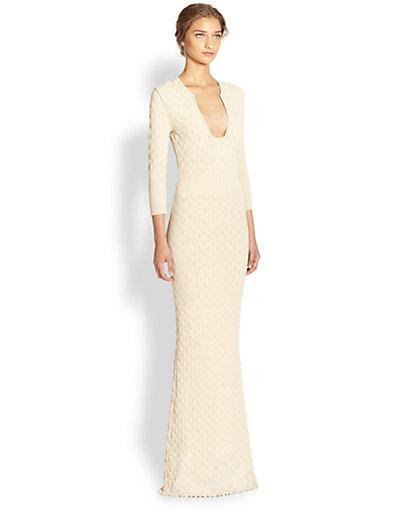 Snag-Her-Style-Nicki- Minaj-The-Other- Woman-LA-Premiere-  Alexander-McQueen- Knit-Gown-7
