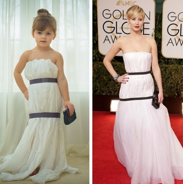 4-year-old-recreates-famous-dresses-angie-mayhem-recreate-famous-dresses-made-of-paper-4