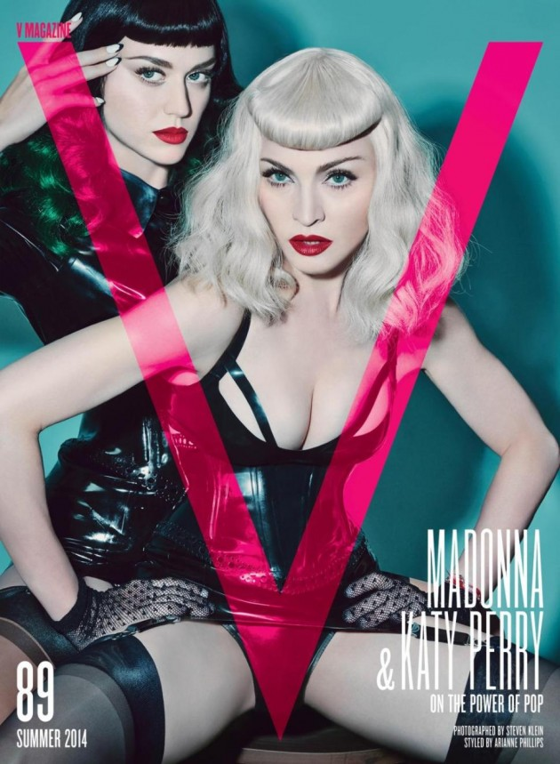 Katy-Perry-and -Madonna-for- Summer-Issue-of- V-