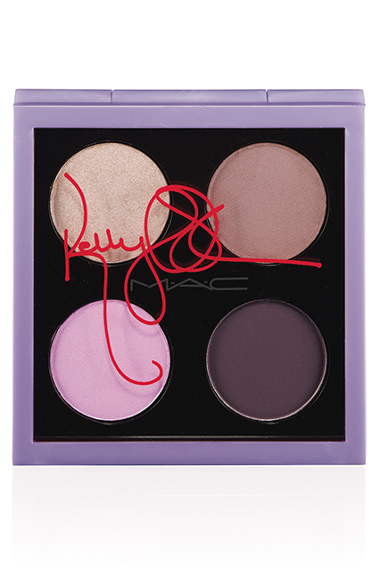 Kelly-Osbourne-Mac-Cosmetics-Bloody Brilliant Eyeshadow Quad