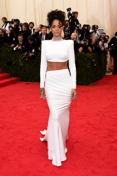 Rihanna-Stella McCartney-white-skirt-crop-top-2014-MET-Gala-3