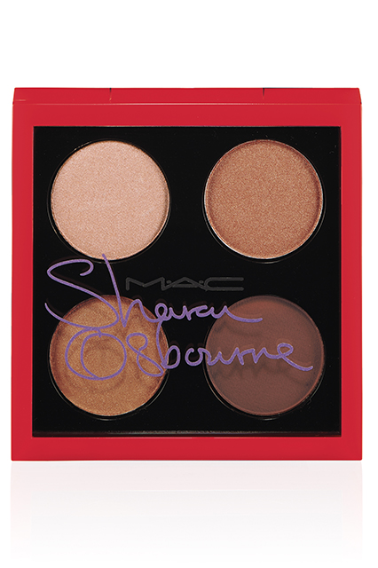 Sharon-Osbourne-Mac-Cosmetics-Duchess Eyeshadow Quad