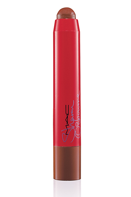 Sharon-Osbourne-Mac-Cosmetics-French Kiss-Patentpolish Lip Pencil-