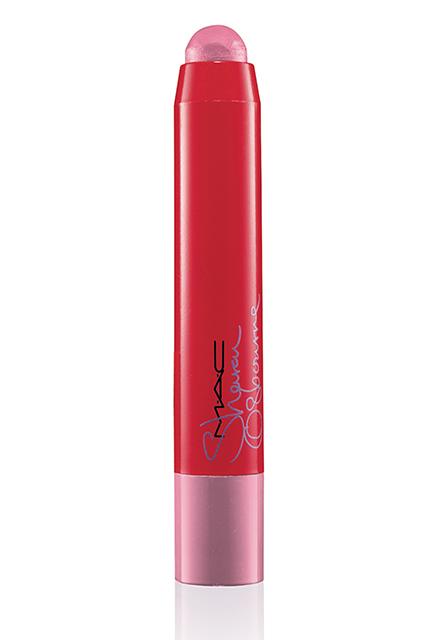 Sharon-Osbourne-Mac-Cosmetics-Patentpink-Patentpolish Lip Pencil-