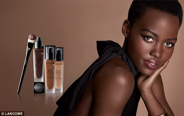 Beauty-News-Lupita Nyongo- Glows-in- First-Lancome Ad-