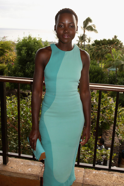 Lupita-Nyongo-  Shines-in-Calvin- Klein-Christian- Louboutin-for-the- 2014-Maui-Film- Festival-2