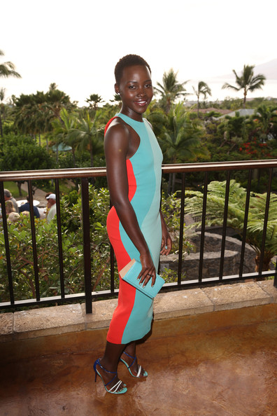 Lupita-Nyongo-  Shines-in-Calvin- Klein-Christian- Louboutin-for-the- 2014-Maui-Film- Festival-3