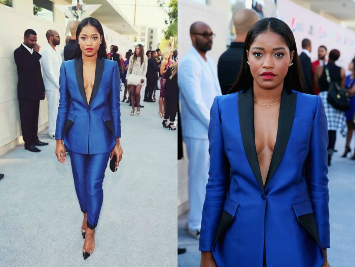 How-to-rock-a-blue-suit-blue-pant-suit-keke-palmer -blue-suit -2