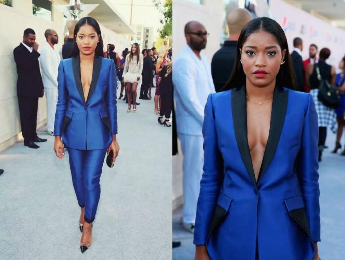 How-to-rock-a-blue-suit-blue-pant-suit-keke-palmer -blue-suit -2