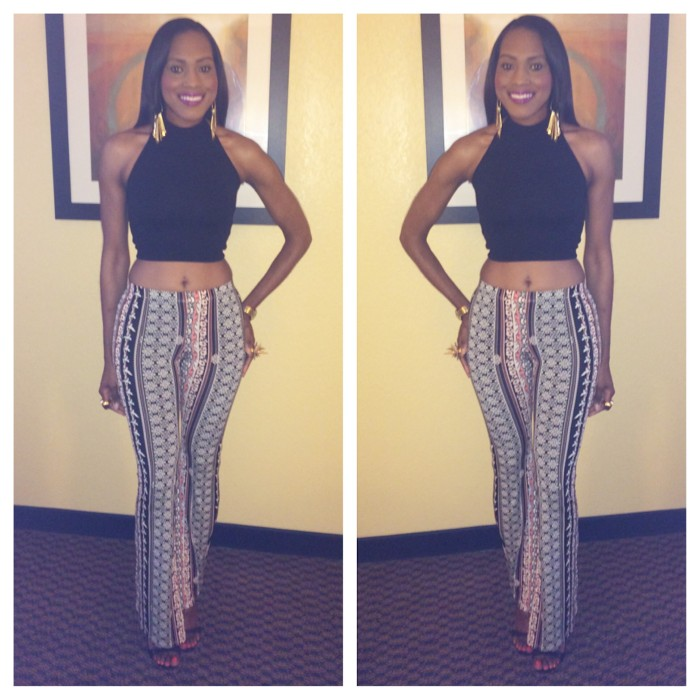 Style-Files-with-pretty-price-Love Tree-Happens-Bell-Bottoms- Xhilaration-Crop- Halter-Top- Nasty-Gal-Shoe Cult-Sandals-9