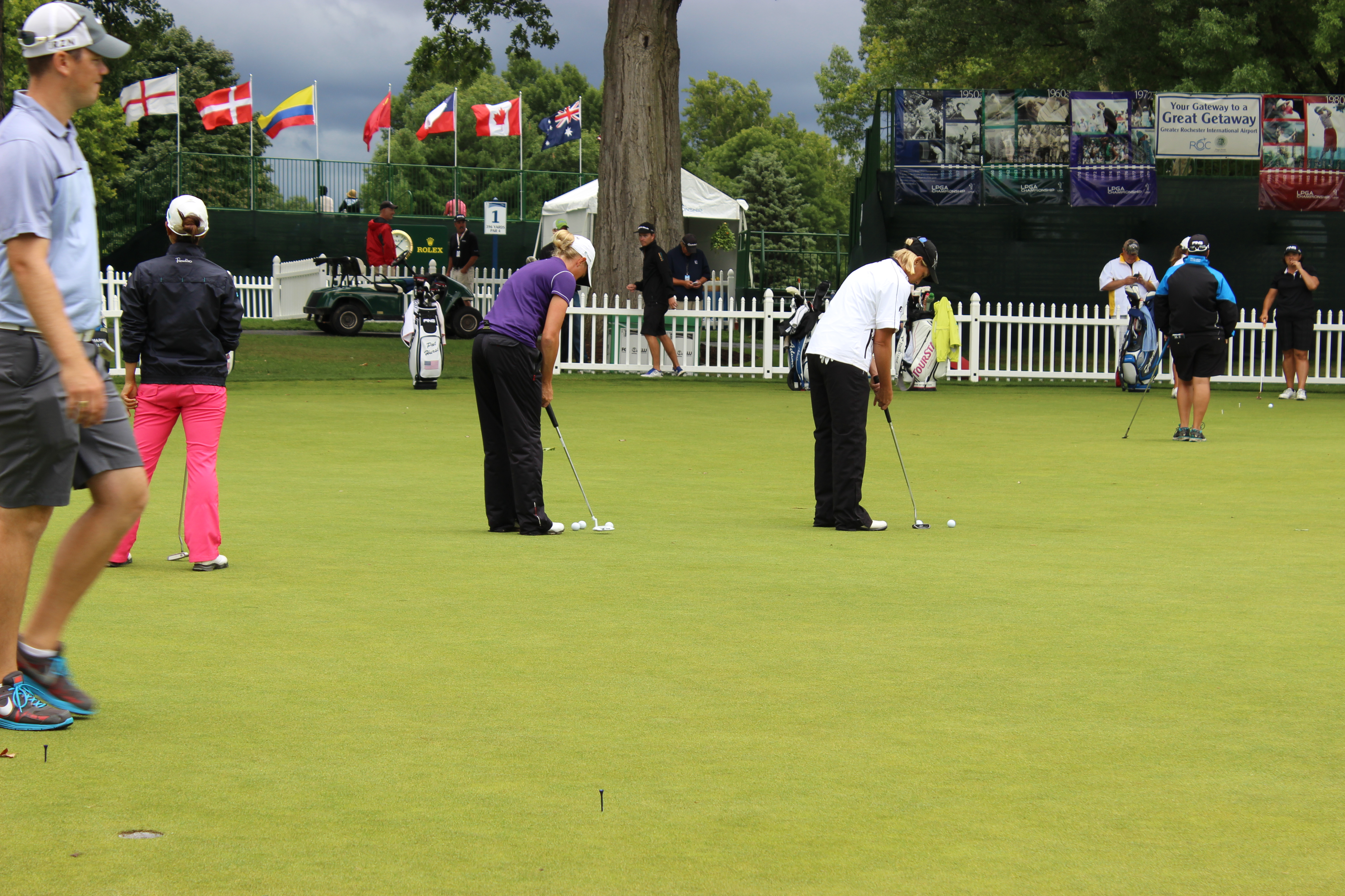 Life-Styles-with-Pretty- Price-Wegmans-LPGA- Championship-Practice-Round-12
