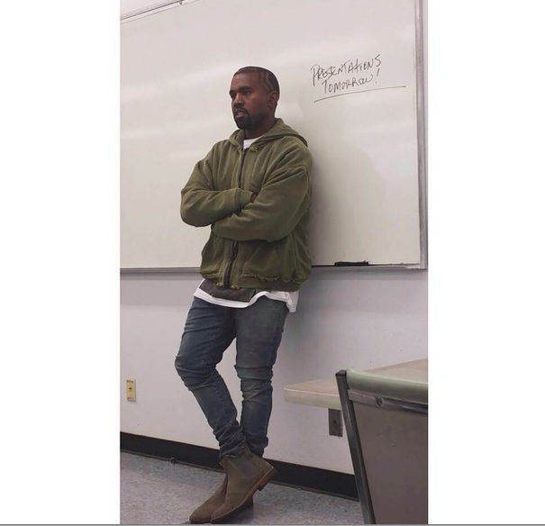 Kanye West Is A Fashion Instructor2