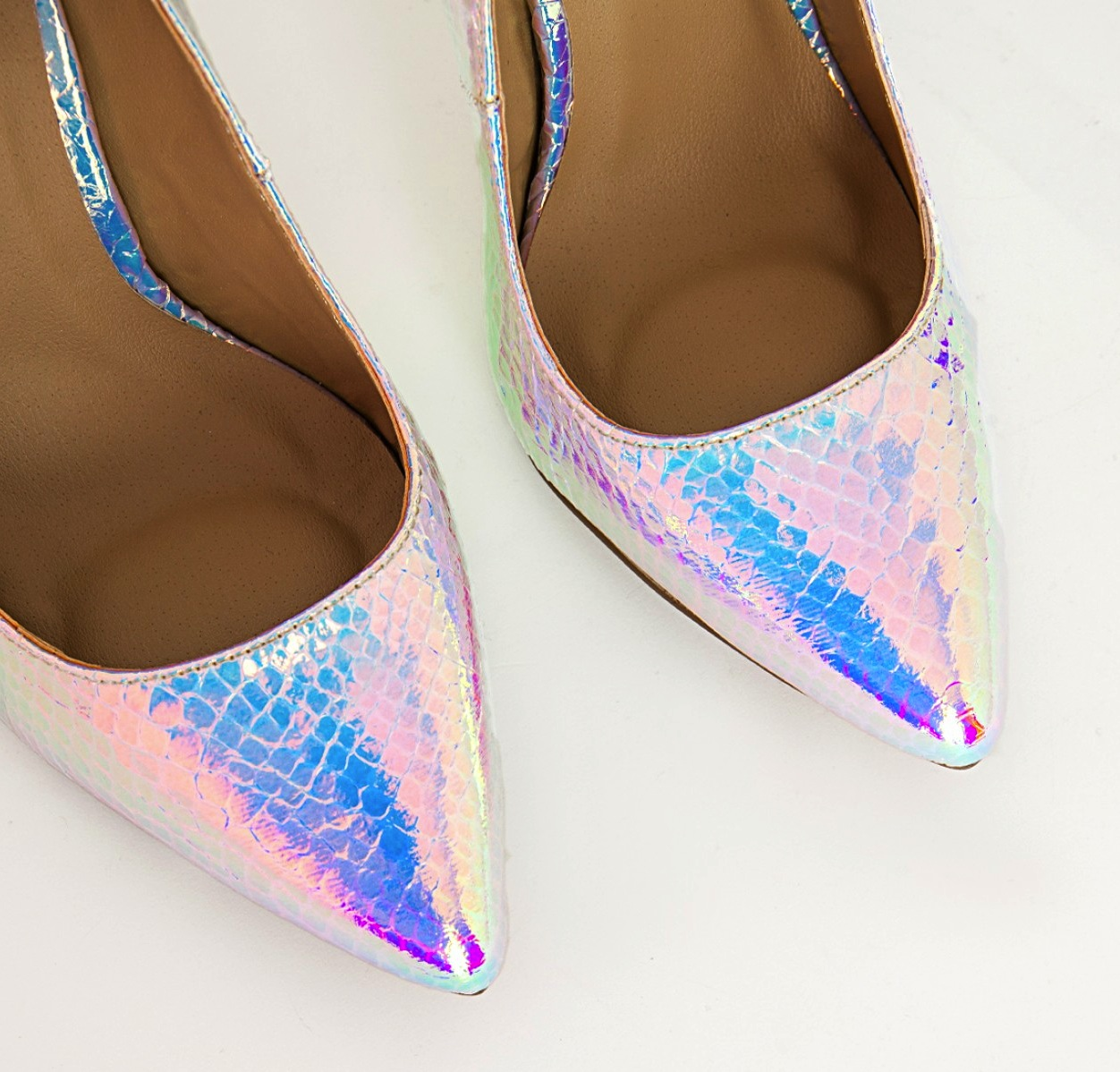 Missguided  Holographic Stiletto Heels4