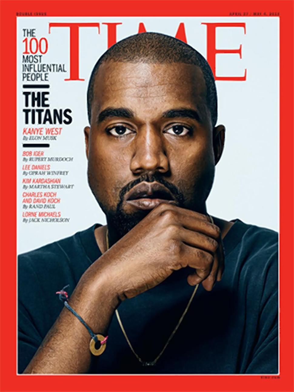 Kanye West Makes TIME's 100 List