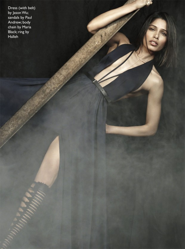 Magazine-Fab-Freida-Pinto-Talks- Challenging- Stereotypes-Beauty Standards-in-Net-a-Porter-The-Edit-7