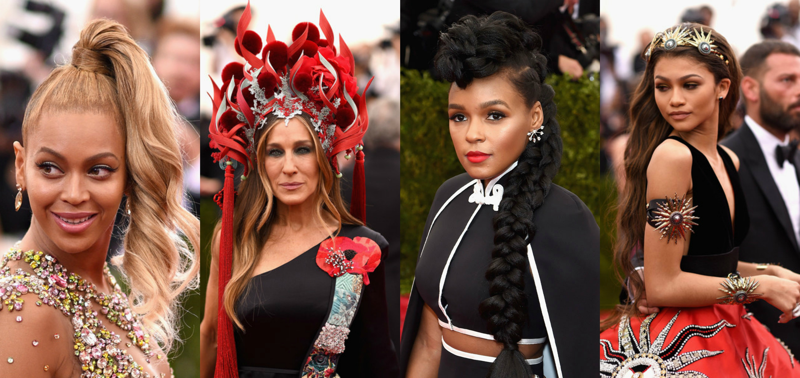 Headpieces and Hairstyles At 2015 Met Gala