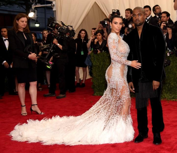 Kim Kardashian in Roberto Cavalli  by Peter Dundas