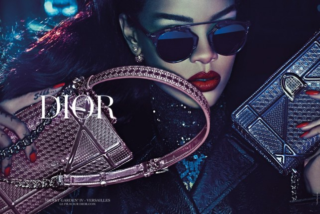 Rihanna-Secret Garden IV- Dior-Campaign- Video-Is- Here-