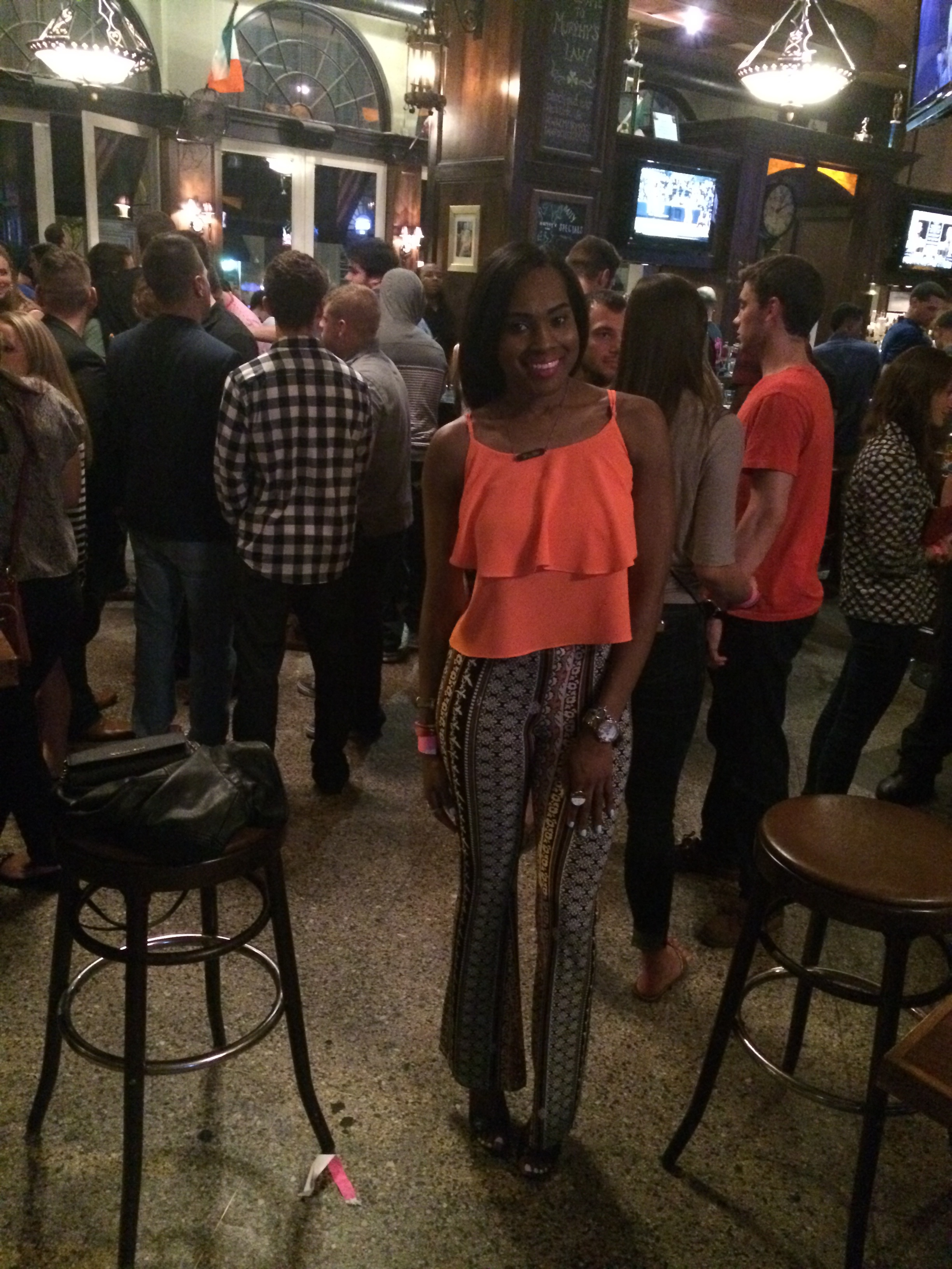 Style-files-Love Tree Happens-bell-bottoms-coral-blouse-black-Steve Madden Mayven Heel Sandals-birthday-jday-oohlalablog-4