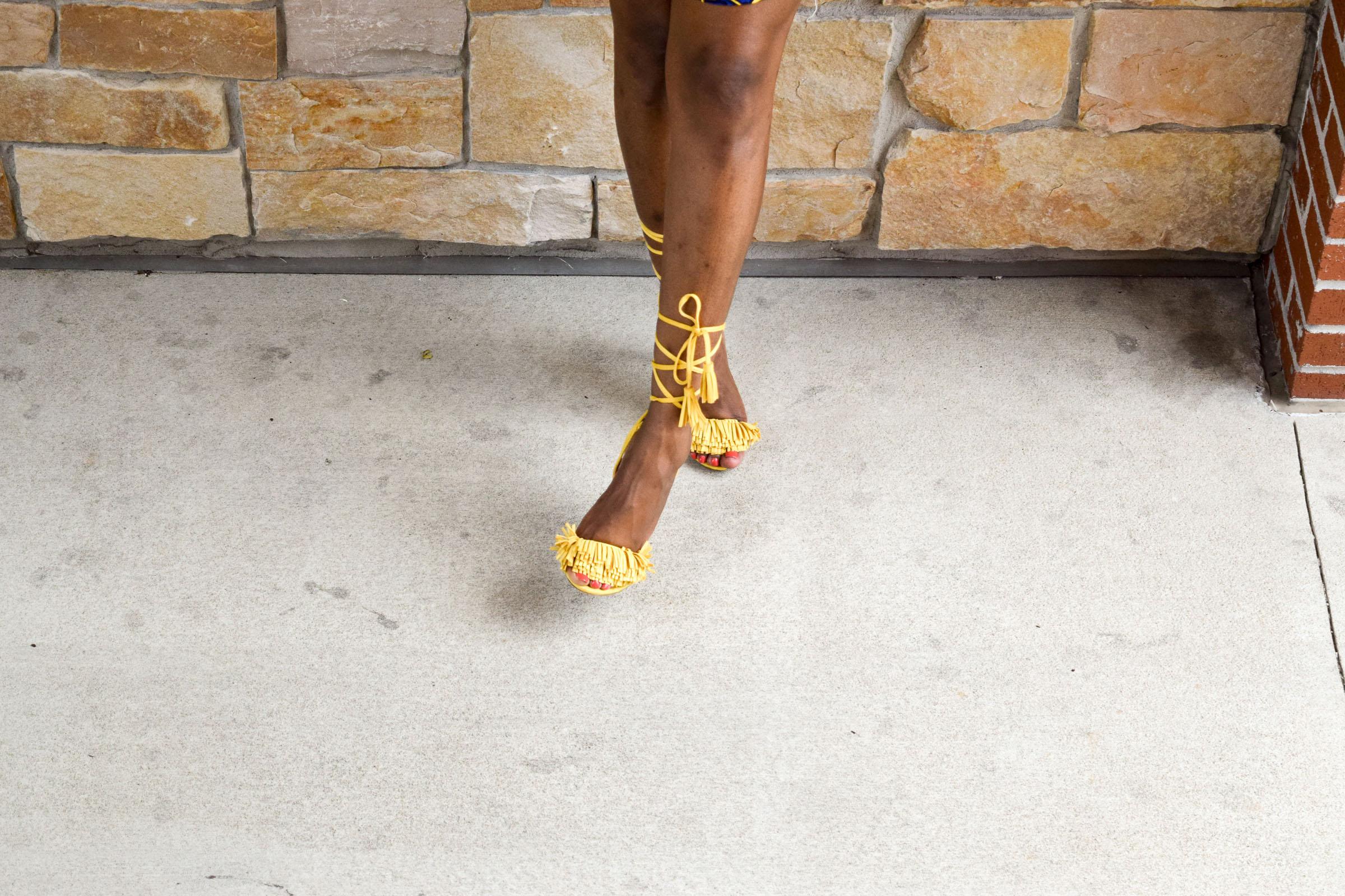 Style-Files-Target-Marimeko-collection -floral-tunic-justfab-tayrey-yellow-fringe-heels-sandals-yellow-turban-asos-denim-choker-oohlalablog-23