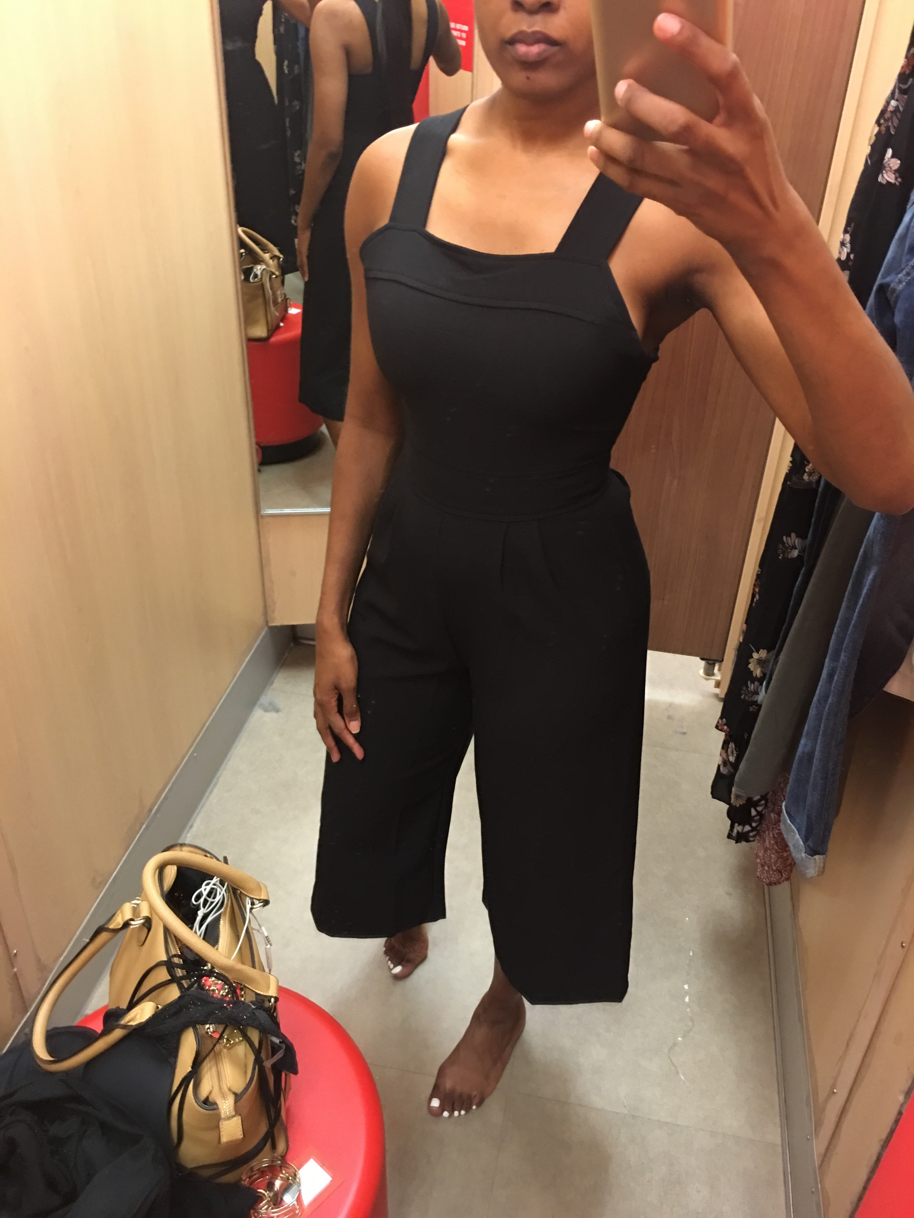 Style-Files-Heart-Soul-black-culotte-jumpsuit-from-Target-how-to-wear-culotte jumpsuit-trend-Zara-vinyl-d-orsay-pumps-oohlalablog-21