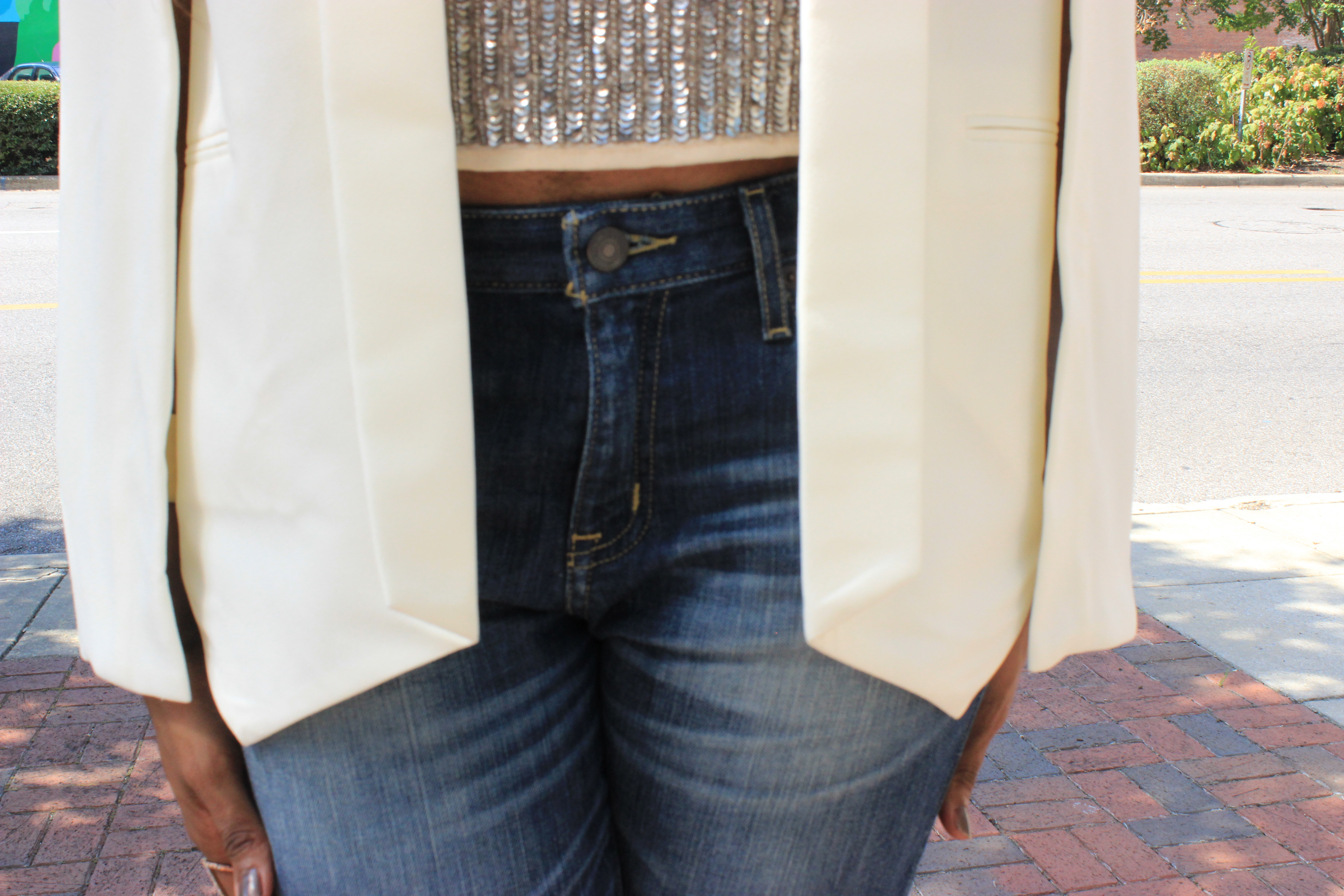 Style-Files-Transitioning from-summer-to-fall-WhoWhatWear-Target-Cape-Jacket-Forever-21-Sheer-Nude-Sequin-tank-top-Target-Mossimo-Boyfriend-Jeans-On-a-evel-nasty-gal-suede-nude-sandals-WetnWild-Fall-Dont-be-a-plum-plum-matte-liquid-lipstick-10