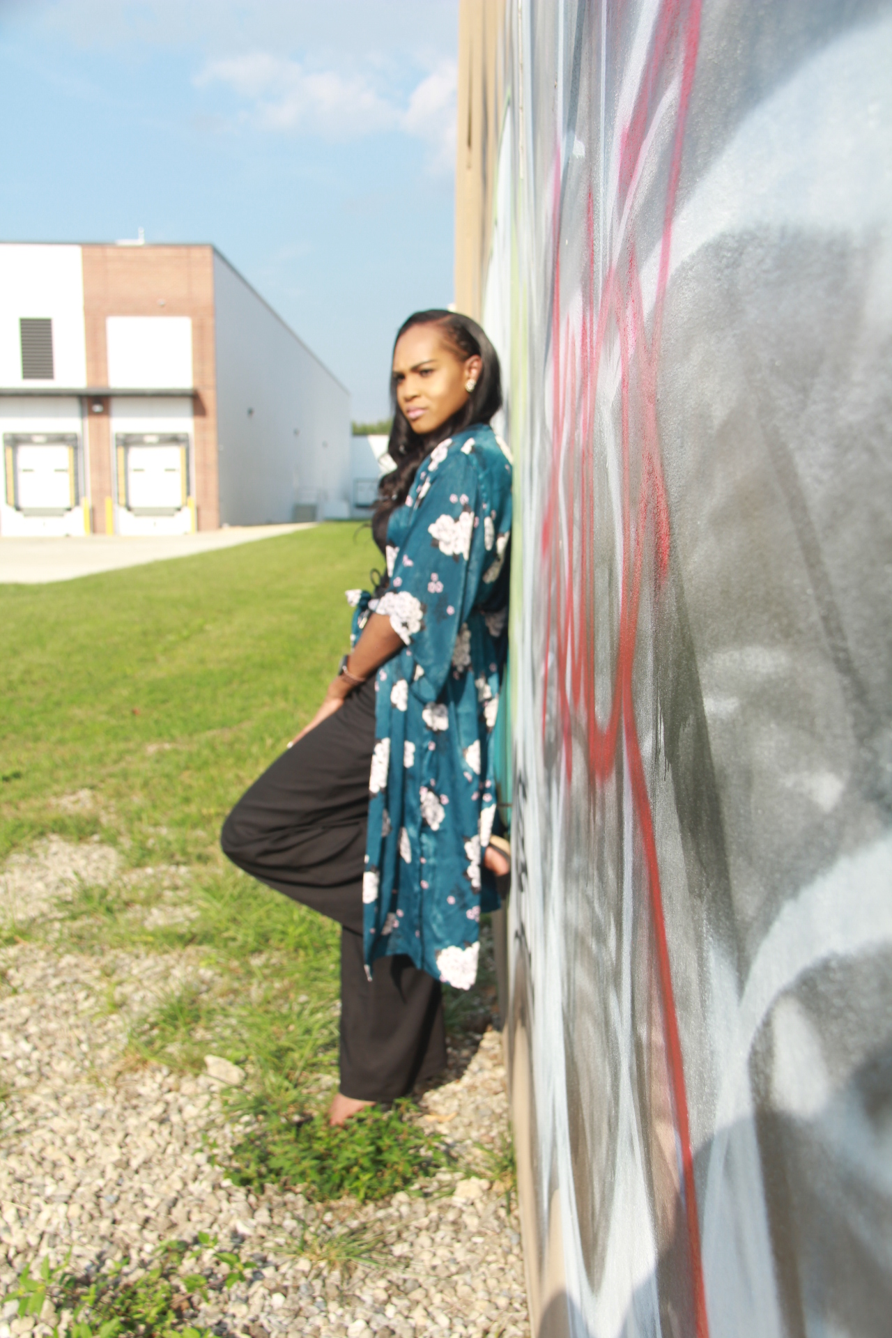 Style-files-Monteau-Green-floral-kimono-Boohoo-Wideleg-pants-zara-pvc-clear-black-pumps-forever21-lace-corset-bodysuit-ooohlalablog-9