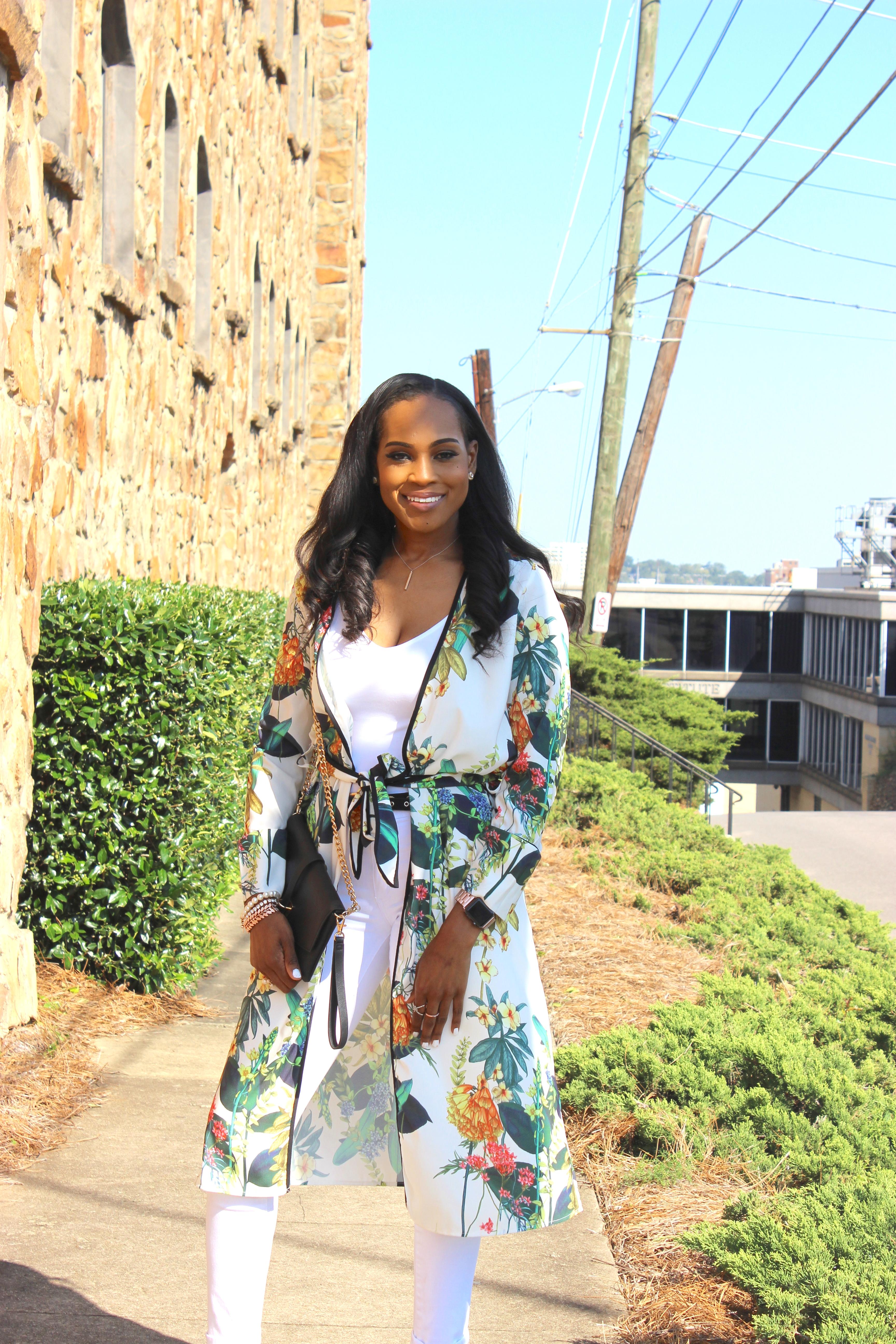 Style-files-White-Civil-Skinny-Jeans-forever-21-white-bodysuit-shein-white-floral-Open Front Longline Kimono -Cape-Ribbon-black-Meg Ankle Strap Beaded Heel-Cape-Ribbon-studded-ankle-strap-sandals-oohlalablog-10